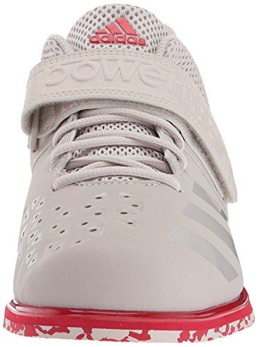 adidas Performance Herren Powerlift.3.1 Kreide Pearl / Kreide Pearl / Scarlet
