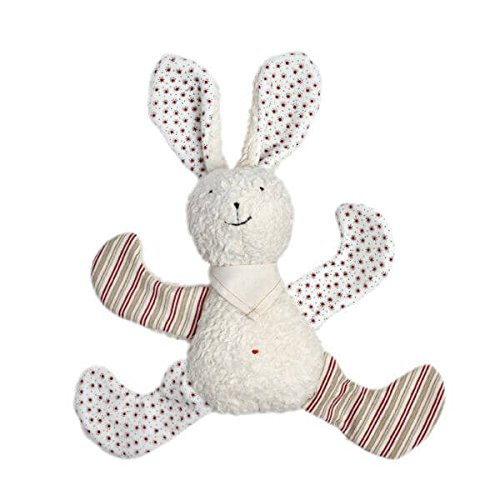 Natura Pure Baby Wool (Organic Cotton White Bunny Rabbit filled with Wool)