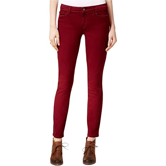 Tommy hilfiger red skinny jeans
