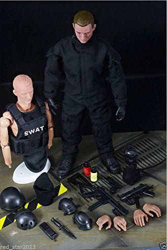 """1/6 Soldier S.W.A.T. Model Toys 12"""" Action Figure Over Points of 30 Articulation"""