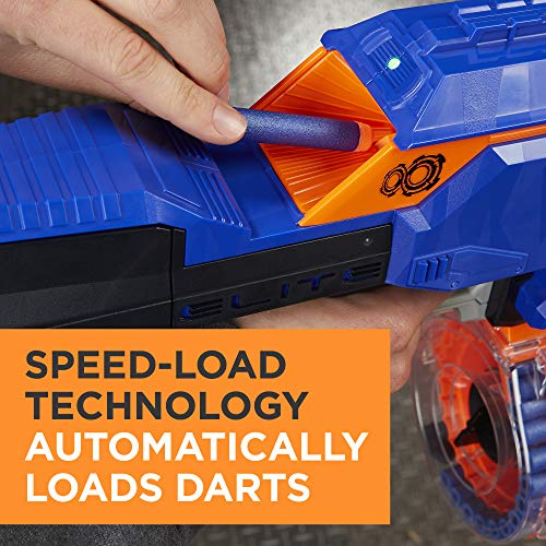 51wDP5CFK L - Infinus Nerf N-Strike Elite Toy Motorized Blaster with Speed-Load Technology, 30-Dart Drum, and 30 Official Nerf Elite Darts for Kids, Teens, and Adults