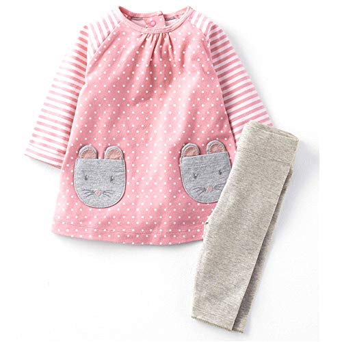 Toddler Baby Girls Clothing Set Cute Print Long