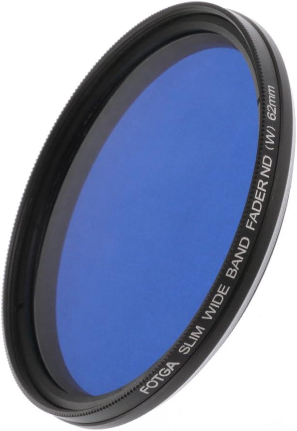 Fotga 52mm ND2 to ND400 Slim Fader Variable Adjustable ND Neutral Density Lens Filter for DSLR Mirrorless Cameras