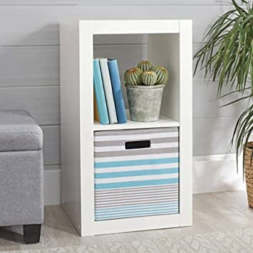 Better Homes and Gardens 2-Cube Organizer White