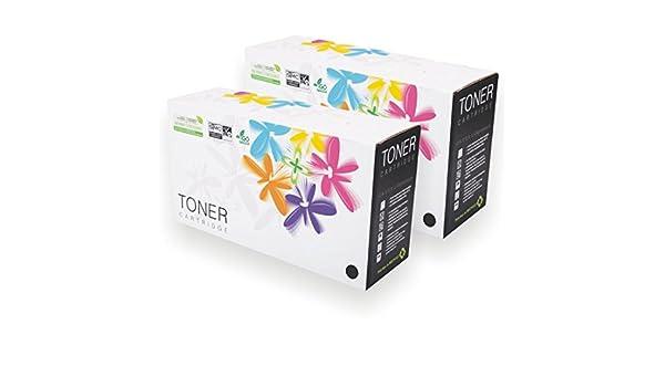 Láser Max® 2 x Compatible Ricoh 407254 negro de alta capacidad ...
