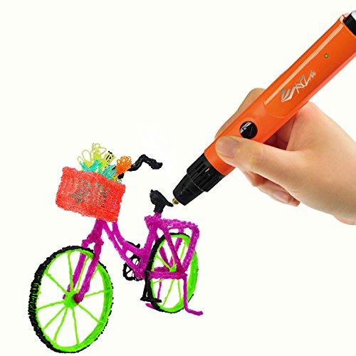 XYZprinting da Vinci 3D Pen - Environmental Friendly (Includes: Non-Toxic PLA Filament, Cleaning & Maintenance Tools) by XYZprinting