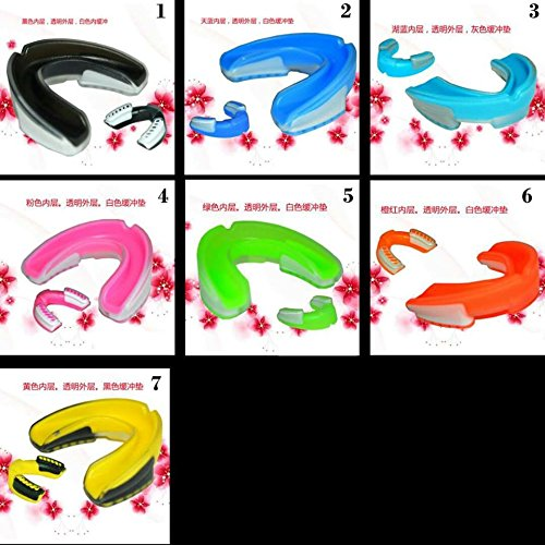 Wolfgang - Mouth Guard - 7 Colors - Protection For All Contact Sports - With Case