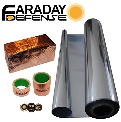 Faraday Cage Kit Small Box Size Emp Solar Flare Signal Blocking Box Heavy Duty Electro-shielding Kit