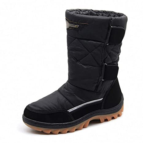Amazon.com Tebapi Mens Backpacking Boots Men Winter Shoes