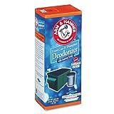 Arm & Hammer 20015632 Trash Can & Dumpster Deodorizer,Powder, 42.6 oz