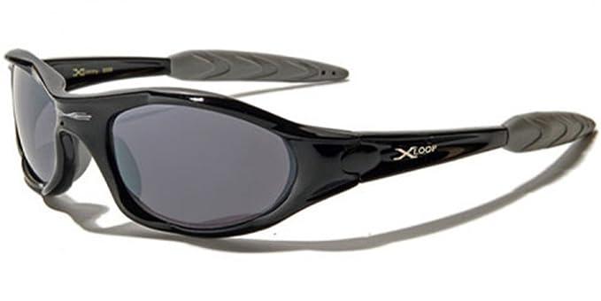 a840e50c807 Amazon.com  X Loop High Profile Runners Cycling Sunglasses (Black ...