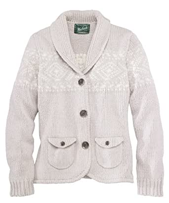 Woolrich Chester Valley Sweater Jacket Small Stone