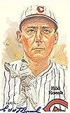 Edd Rousch Autographed Photo - Roush Perez Steele Postcard James Spence ) - Autographed MLB Photos