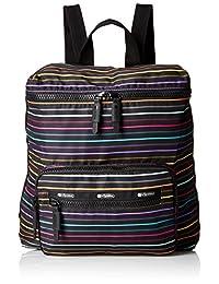 LeSportsac Women's Portable Backpack, Lestripe Travel