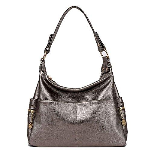 d'unité en portefeuille sacs cuir centrale main Sac à Totes Dunland Magenta Coutures bandoulière xqAOpRnY