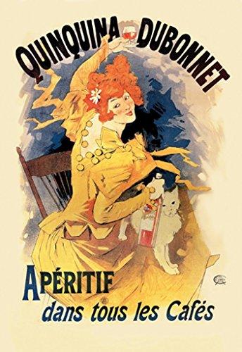 Buyenlarge Quinquina Dubonnet Apéritif by Jules Chéret Wall Decal, 36