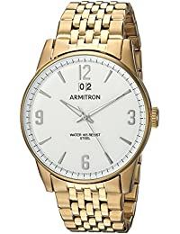 Men's 20/5231WTGP Date Function Gold-Tone Bracelet Watch