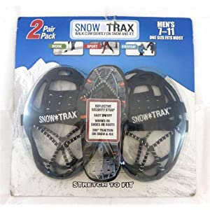 2 Pair Snow Trax Mens 8 12