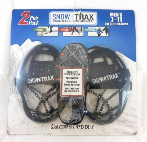 2 Pair Snow Trax Mens 8-12