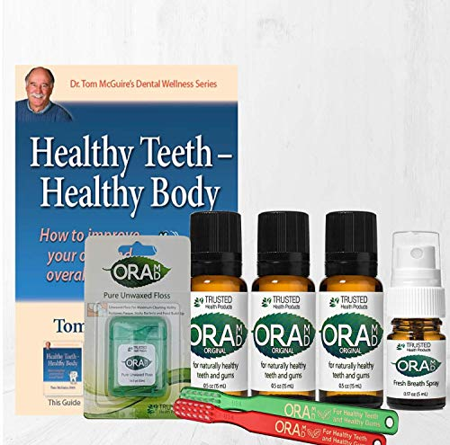 OraMD Original Starter 3 Bottle Kit - Toothpaste and Mouthwash Alternative for Teeth and Gum, Gingivitis, Gum Disease Cure (Set)