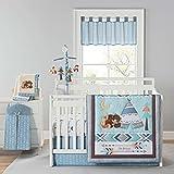 Be Brave Four Piece Crib Bedding Set