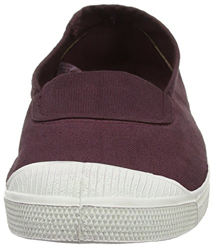 Bensimon Tennis Elastique, Baskets Basses Femme Violet (Prune)