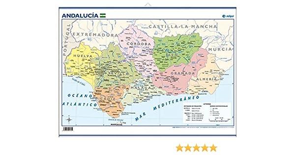 Andalucía, político: Mapas Mini-murales (): Amazon.es: Edigol ...