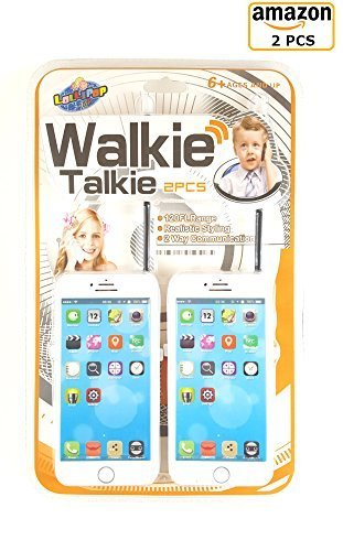 Lollipop Cell Phone Iphone Walkie Talkie Kids Learning Toy