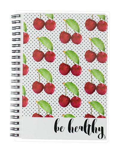 21 Day Food and Exercise Tracker - Very Cherry