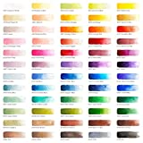 Arteza Watercolor Paint, Set of 60 Colors/Tubes