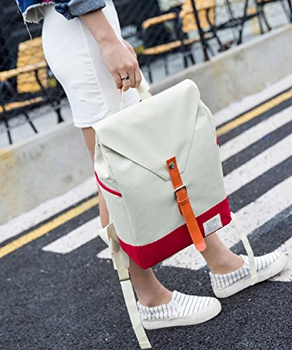 for Blue Fashion Girls Deep Keshi Teen Lightweight Backpacks Canvas Backpack Cute Young Bag Cool xwq8HUOC