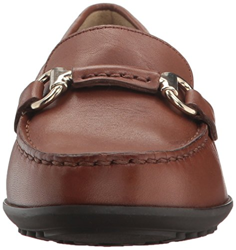 Women's Brown Mocassins D Geox B Elidia TwndPnaq6