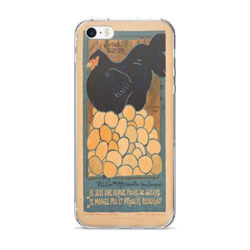 Vintage poster - I am a Fine War Hen - iPhone 5/5s/SE Case