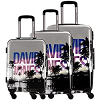 David Jones Palmier 3-Piece Hardside Spinner Luggage Set