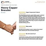 Copper Compression Heavyweight Copper Bracelet