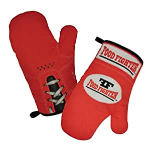 Food Fighter Oven Mitts (1 pair)