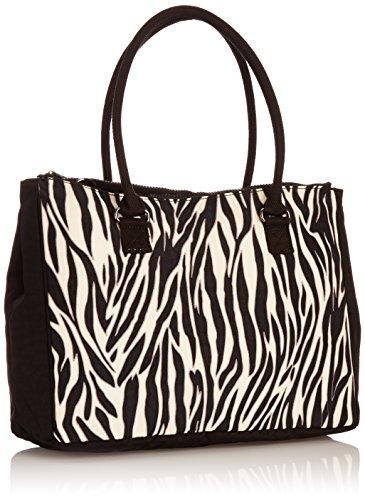 Kipling Halia Tt Zebra Block - Bolso para mujer Zebra Block