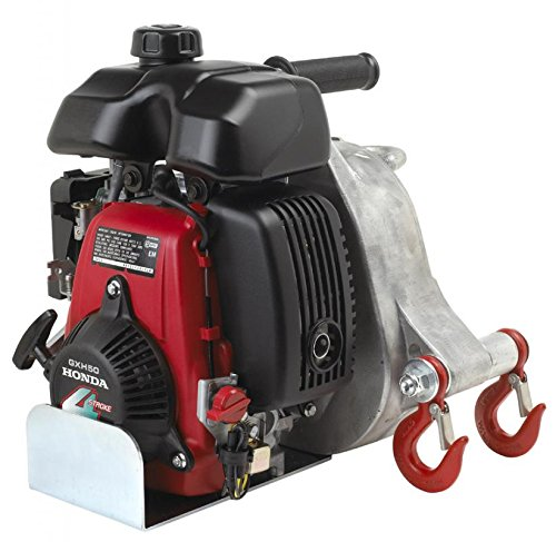 Portable Winch Gas-Powered Capstan Winch - 2.1 HP, 50cc Honda GHX-50 Engine, 1-Ton Capacity, Model# PCW-5000