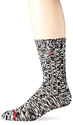 Calvin Klein Men's Nate Ribbed Work Crew Sock