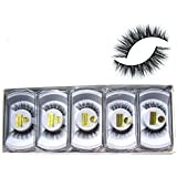 0f26540aee8 Wholesale 10 boxes/lot 100% Real Mink Hair Messy Cross False Eyelashes 3D  Winged