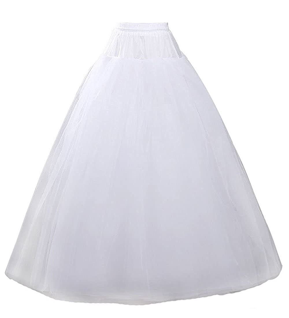 5edd4dc32766 Length: from waist to bottom: 39-41 inches. This petticoat is perfect for  wedding/evening dress. It will make your dress look more puffy ...