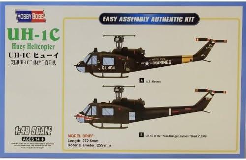 HB85803 Hobbyboss 1:48 Uh-1C Huey Helicop