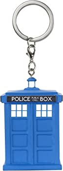 Funko POP Keychain Doctor Who Tardis Figure