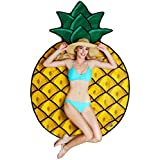 BigMouth Inc Gigantic Pineapple Beach Blanket– Fun Beach Blanket Perfect for The Beach, Pool, Lake and More, Machine Washable