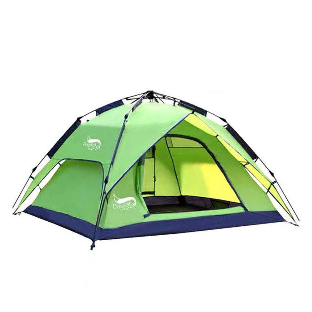 Dall zelte Zelt Kuppel Camping Tragbar Falten Wasserdicht Draussen Dauerhaft 200  180  130 cm (Farbe : Grün)