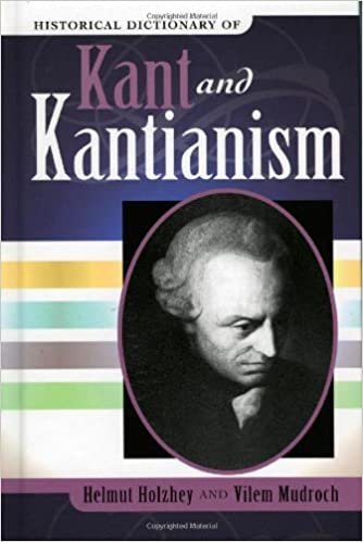 Book Historical Dictionary of Kant and Kantianism (Historical Dictionaries of Religions, Philosophies, and Movements Series)