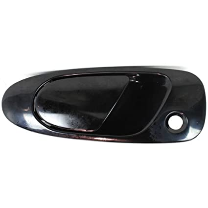e0c29f8d02a34 Exterior Door Handle for Honda Civic 92-95 / DEL SOL 93-97 Front LH Outer  Smooth Black Paint to Match Plastic