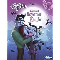 Disney Vampirina - Çıkartmalı Boyama Kitabı: Renkli Çıkartmalar