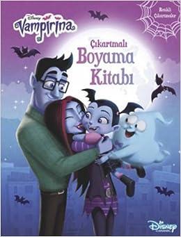 Vampirina Boyama Kitaby Resim Cizmek