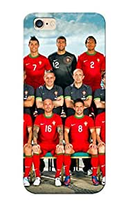 New Fashionable Crooningrose LJGVqz-2862-LUBWT Cover Case Specially Made For Iphone 6 Plus(portugal National Football Team 2012) wangjiang maoyi by lolosakes
